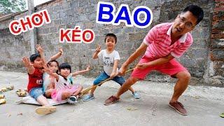 BÉ BÚN CHƠI KÉO BAO – CHƠI TRÒ CHƠI DÂN GIAN Folk games for kids |CreativeKids