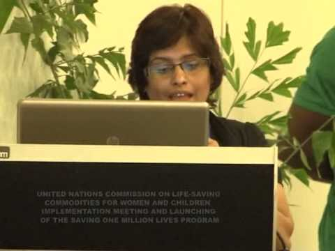 Day two of the UN Commission on Lifesaving meeting in Abuja 2012