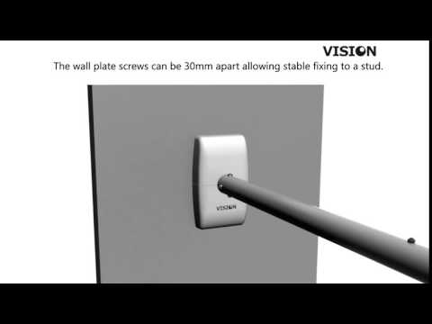 Vision Techmount Tm St2 Short Throw Projector Wall Mount