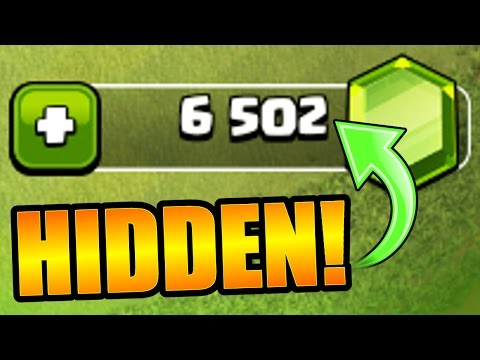 I HID FREE GEMS IN THIS VIDEO!! - Clash Of Clans - HOW FAR WILL $50.00 GO!?