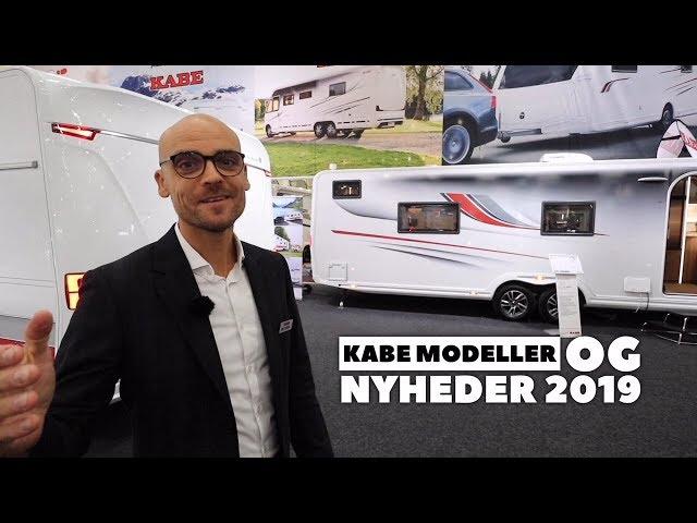 Kabe modeller og nyheder 2019