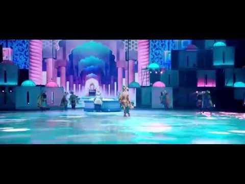 Видео: Ледовое арена шоу Аладдин и повелитель огня