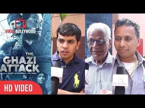The Ghazi Attack Movie Public Review | Rana Daggubati | Viralbollywood