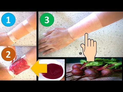 GENIUS!! 1 USE MIRACLE SKIN WHITENING REMEDY || LIVE DEMO || Natural Home Remedies
