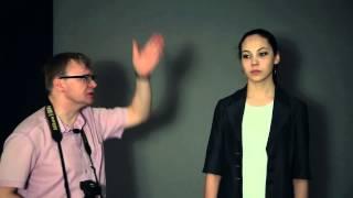 Как новичку создать модную световую схему.Портретная съемка.Советы эксперта. Урок 4 от Veryvery.ru