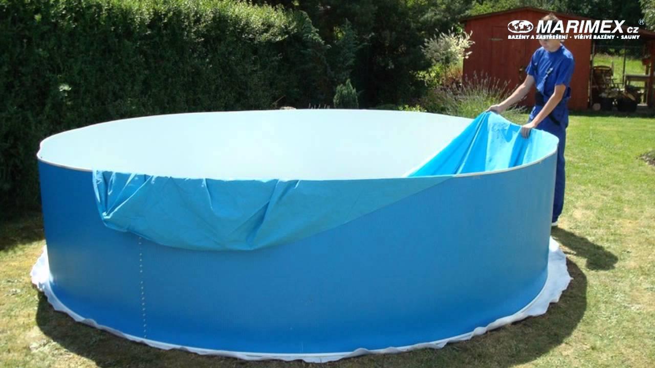 Návod na stavbu bazénu azuro