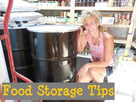 Long Term Food Storage: Modern Homesteading Basic Food Storage