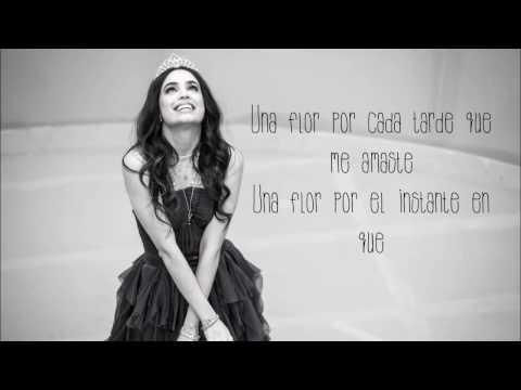 Sofia Carson - Una Flor (letra)