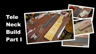 Building A Telecaster Tele Guitar Neck - Part 1 - Luthier Build