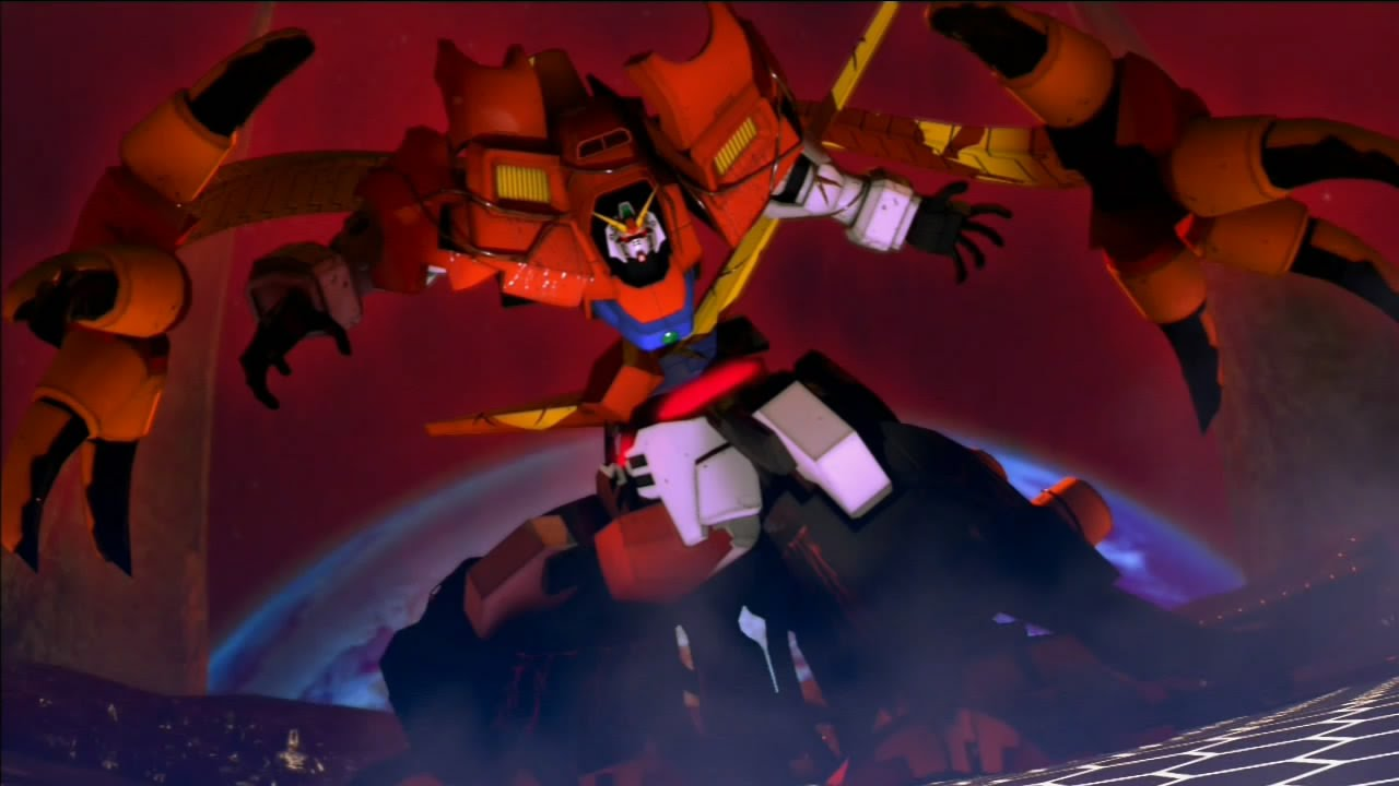 Gundam Breaker 2 Devil Gundam Boss Battle Final Mission