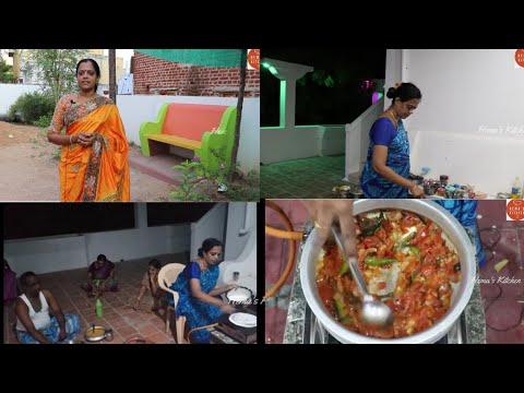 மொட்டை மாடி சமையல்/Tomato Kurma/Dosai/Thakkali kurma recipe in Tamil