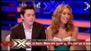Leona Lewis on X Factor SEMI-FINAL night