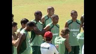 Após vencer na Libertadores, Fluminense já pensa no jogo contra o Flamengo pelo Carioca 2012