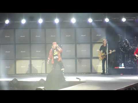 AC/DC w/ Axl Rose – Back in Black (Live in Aarhus, June 12th, 2016)