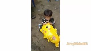 Bemain Balon Pokemon Pikachu