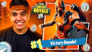 I KILLED GENERAL WITH THE NEW SKIN VERTEX AT FORTNITE: BATTLE ROYALE! Tímido