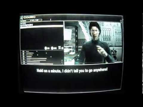 MGS4 codec call: Snake unhappy with the double-crossing Otacon