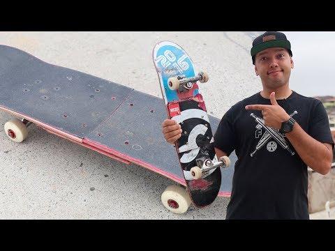 Skate com SHAPE EMENDADO - Como Manda?