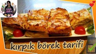Kırpık Börek Tarifi Yalancı Su Böreği Nasıl yapılır Sibelin mutfağı ile yemek tarifleri