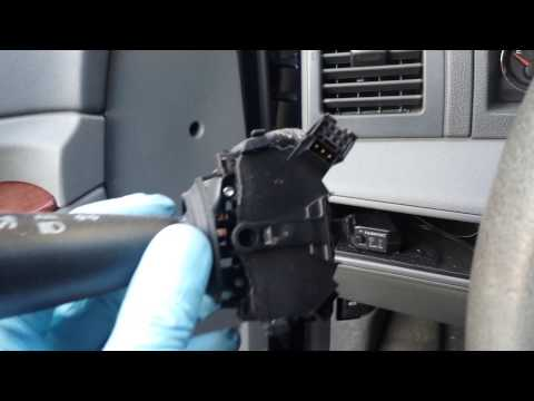 Replacing A Multi Function Switch (MFS) 2006 Jeep Grand Cherokee (WK)