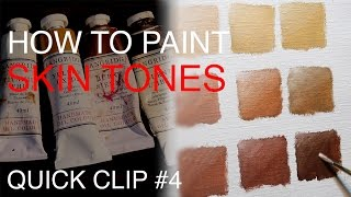 How To Mix Skin Tones: QUICK CLIP #4
