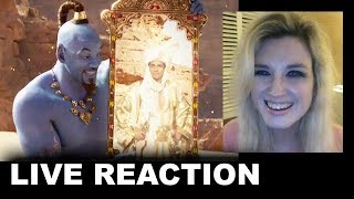 Aladdin Trailer REACTION