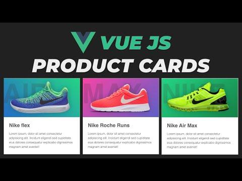 Build a Product Card Parallax using VueJS VueJS Tutorial for beginners