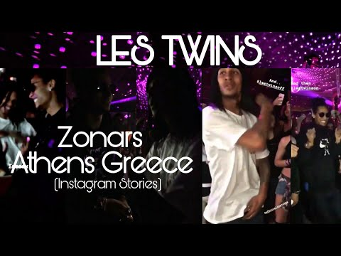 LES TWINS | Zonars Athens Greece | Instagram Stories (February 10, 2018)