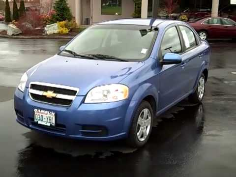 sold 2009 chevrolet aveo sedan ls enumclaw seattle tacoma auburn wa v1770 youtube. Black Bedroom Furniture Sets. Home Design Ideas