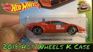 2018 Hot Wheels K Case Unboxing