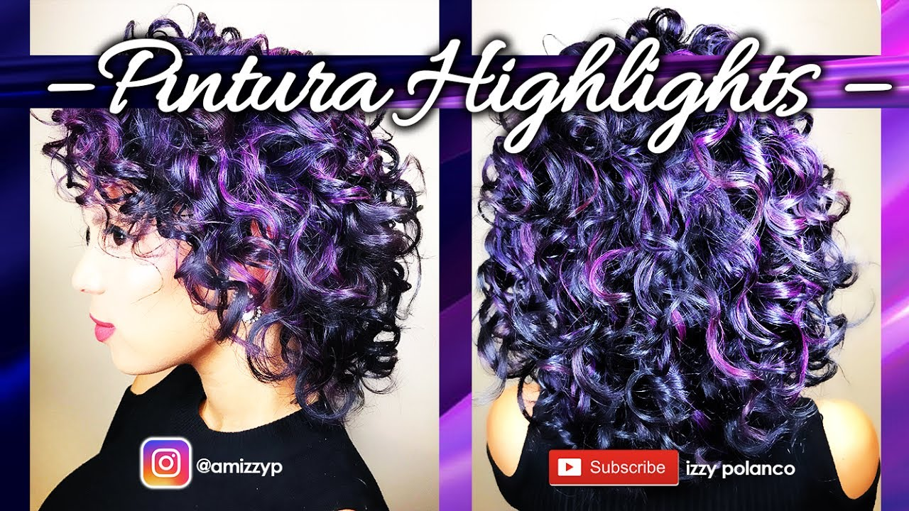 Pintura Highlights For Curly Hair Youtube