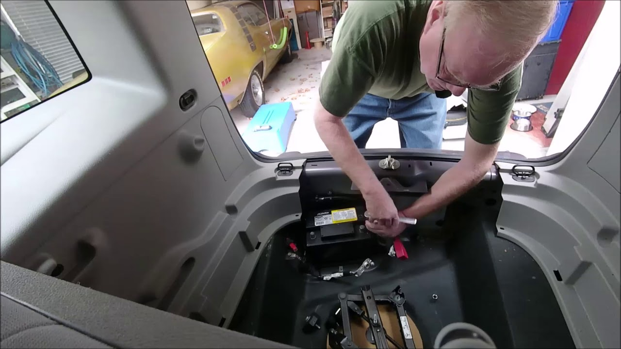 Chevy Hhr Battery Replacement