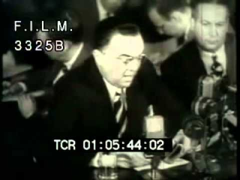 J.  Edgar Hoover (stock footage / archival footage)
