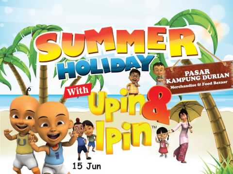 Summer Holiday with Upin & Ipin at Tangcity Mall Travel Video