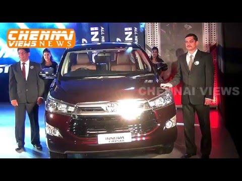 Toyota Showcases all New Innova Crysta in Chennai