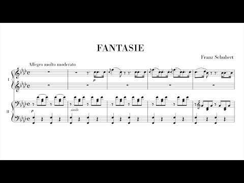 Schubert Fantasie in F minor (complete) Paul Barton, FEURICH piano