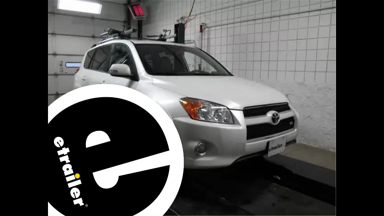 Installation Of A Trailer Wiring Harness On A 2011 Toyota RAV4 - Install Trailer Hitch Rav4
