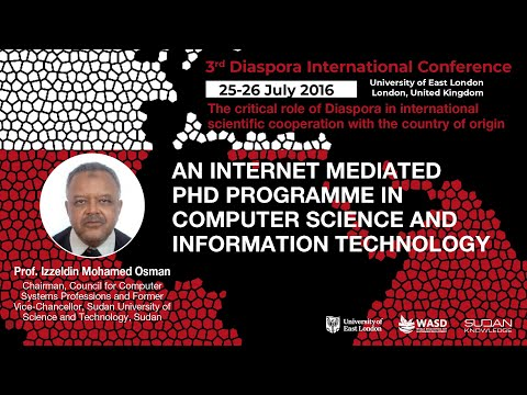 An internet mediated PhD programme in computer science and information technology