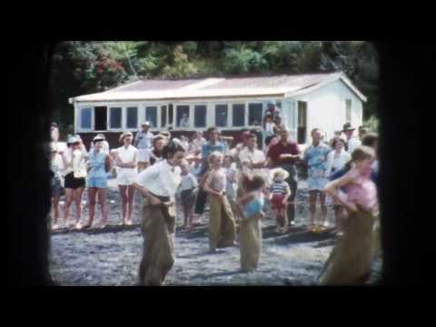 Cornwallis Beach  NZ 1950s