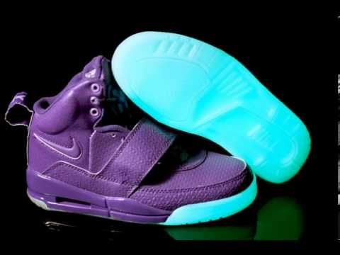d7a7eff6a25a nike shoes glow in the dark - YouTube