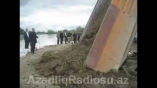 Floods in Salyan, Azerbaijan