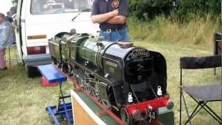 Evening Star 1-2  - working model of the last steam locomotive built by British Railways