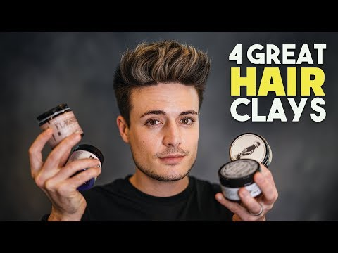 4 GREAT Hair Clays You've NEVER Heard Of! | Men's Hair Products | BluMaan 2018