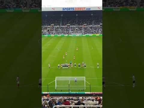 Newcastle Vs arsenal goal