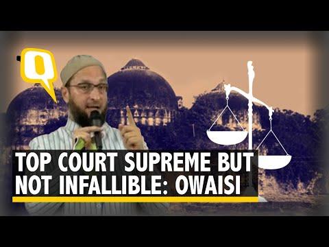 Ayodhya Verdict: Asaduddin