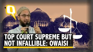 Ayodhya Verdict: Asaduddin Owaisi Addresses Media