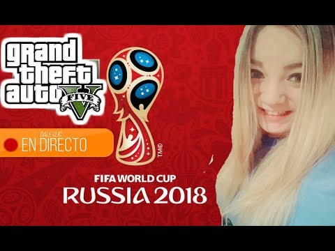 """Copa Mundial De La Fifa Rusia 2018: """"Uruguay - Rusia"""" Y GTA V ONLINE"""