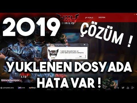 Wolfteam - Yüklenen Dosyada Hata Var ! 2017 (ÇÖZÜM)