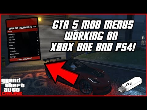 GTA 5: How To Install USB Mod Menus On Xbox One & PS4 Updated! (Xb360, PS3, & PC) | NEW 2019!