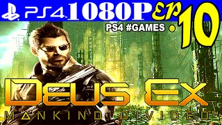 Прохождение DEUS EX: MANKIND DIVIDED ☻ Часть 10 на #PS4 ► ГОРОД ГОЛЕМОВ